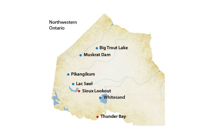 A house fire took five lives May 2 in Kitchenuhmaykoosib Inninuwug, a First Nation about 600 kilometres north of Thunder Bay, Ont.