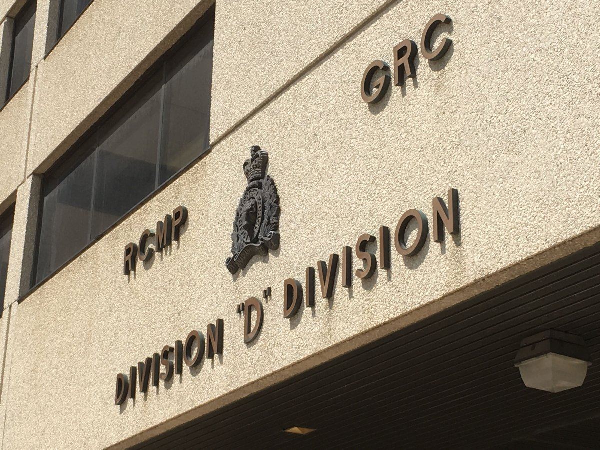 The Manitoba RCMP D Division building on Portage Avenue in Winnipeg.