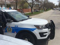 Continue reading: Winnipeg police on scene of car crash in St. Vital.