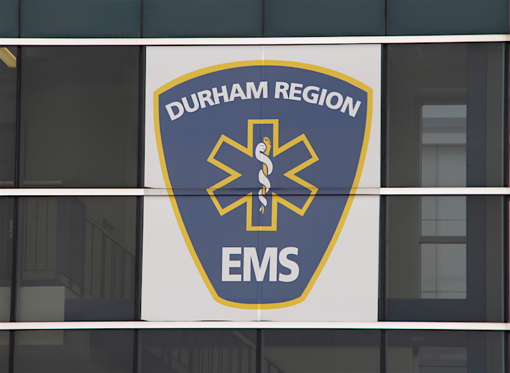 The Durham Region EMS headquarters in Whitby.