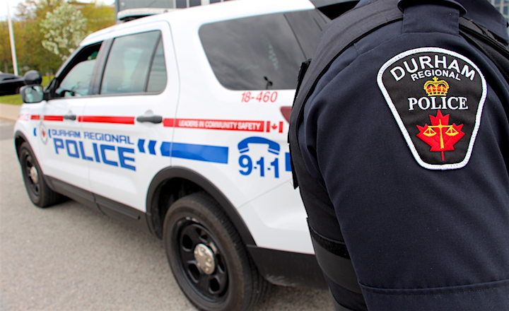 Durham Regional Police say the mother and child have been reunited.