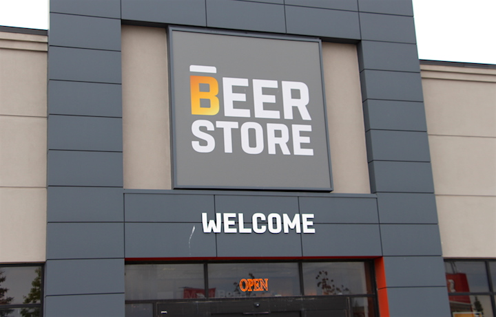 A Beer Store location in Whitby, Ont.