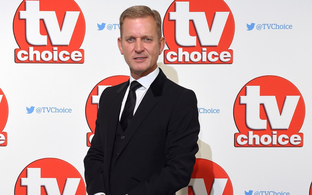 Jeremy Kyle attends the TV Choice Awards 2015 at Hilton Park Lane on Sept. 7, 2015 in London, England.