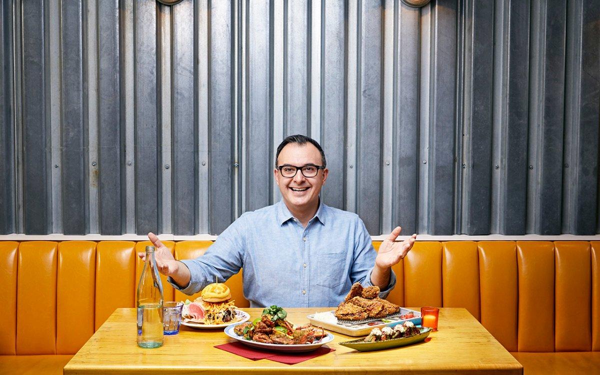 John Catucci for 'Big Food Bucket List.'.