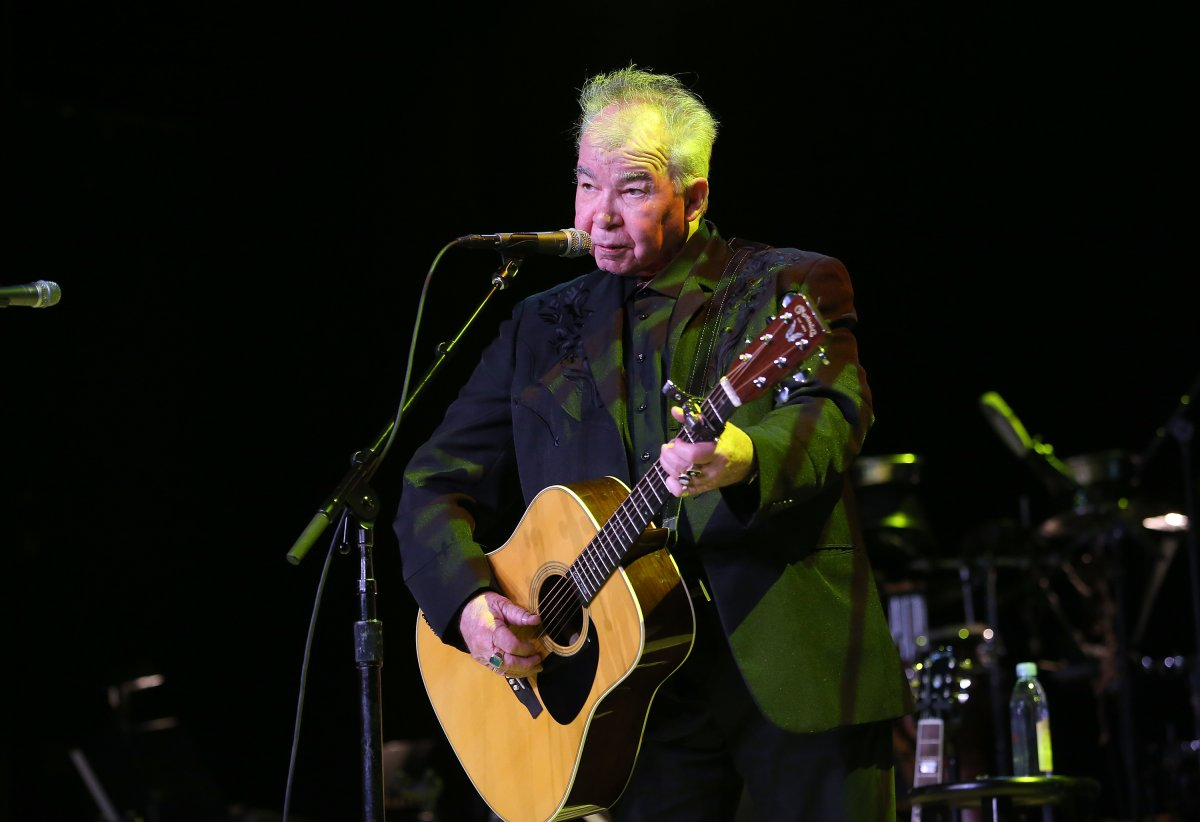 John Prine performs at a benefit concert in 2018 in Los Angeles, California.