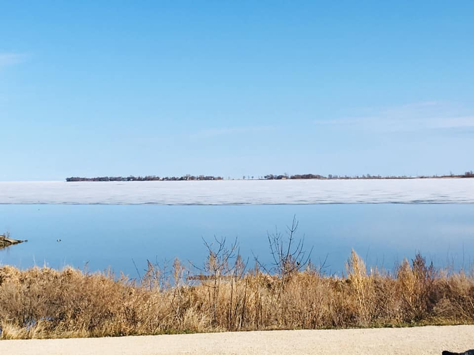 Lake Winnipeg at Gimli.