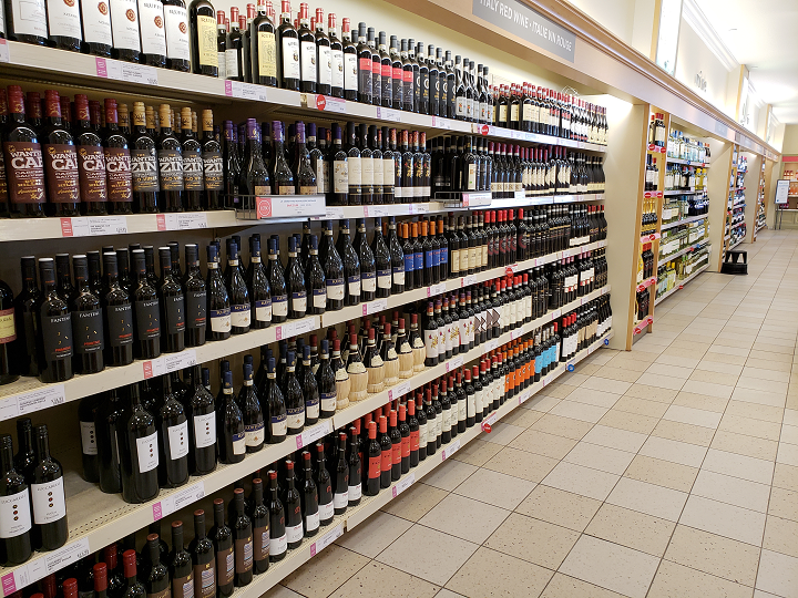 Under prior regulations, B.C. residents were limited to bringing no more than three litres of spirits, nine litres of wine and 25.6 litres of beer, cider or coolers into the province.