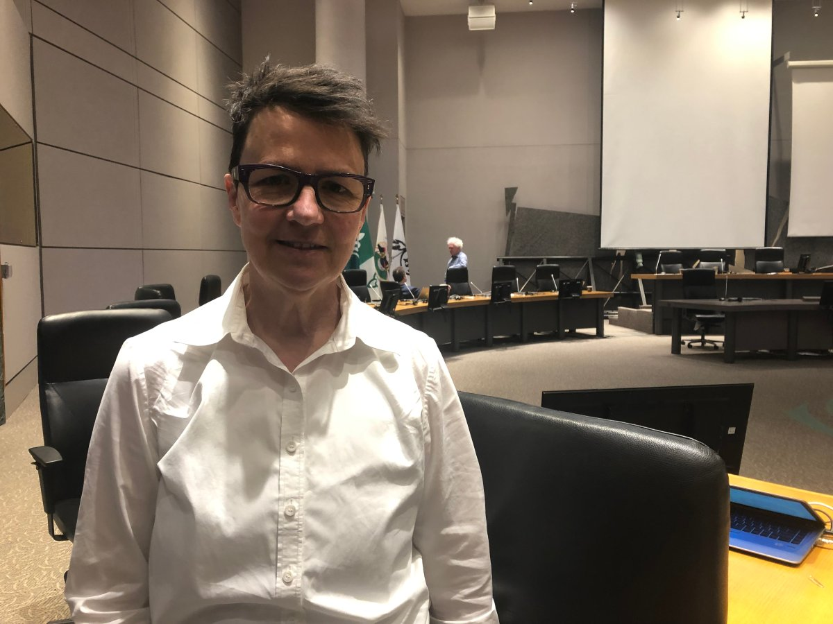 Somerset Coun. Catherine McKenney is among those pushing the city to purchase hotels as an alternative to overcrowding Ottawa's shelter system during the pandemic.