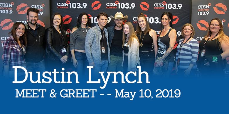 Dustin Lynch Meet and Greet