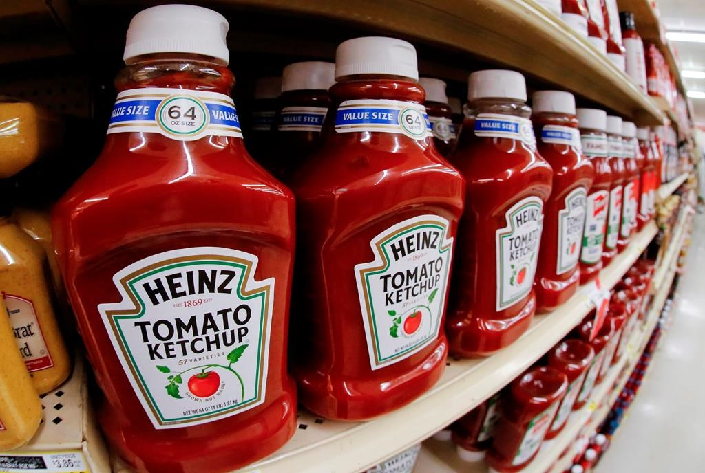 The ketchup maker says the decision to move production back to Canada from the U.S. comes after a joint investment between Kraft Heinz Canada and the Quebec government's business expansion program.