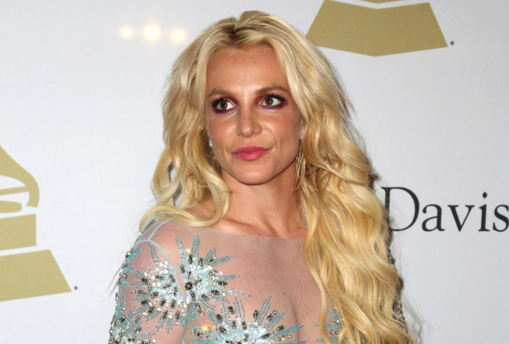 This Feb. 11, 2017 file photo shows Britney Spears at the Clive Davis and The Recording Academy Pre-Grammy Gala in Beverly Hills, Calif.