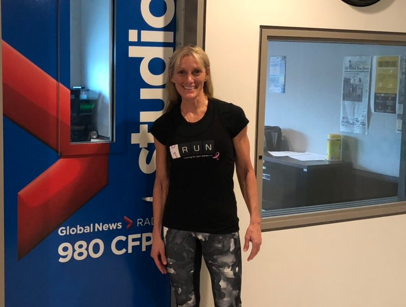 Theresa Carriere will run 100 kilometers in a single day this summer, and a bunch of London-area schools are getting involved too.