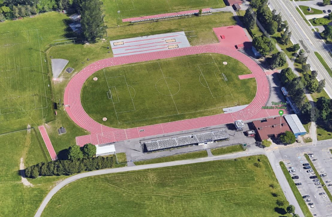 A screenshot of one of the track facilities where the Ottawa Lions Track and Field Club trains. Athletics Canada has issued lifetime bans to the club's head coach and president as a result of a sexual harassment investigation.