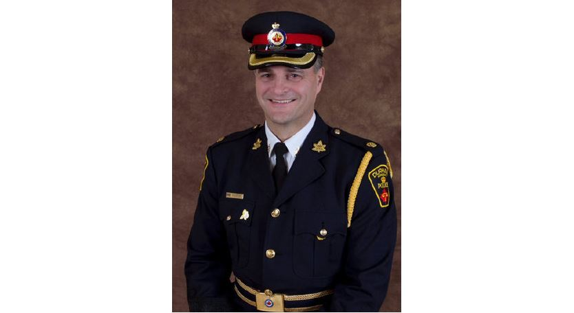 Durham Regional Police Chief Paul Martin is seen in an undated photo.