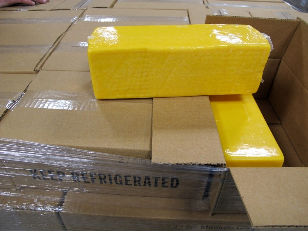 Almost 4,000 kilograms were confiscated from a vehicle trying to cross the Canadian border at the Thousand Islands crossing.