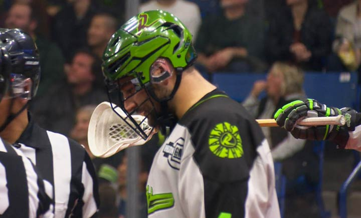 Team captain Chris Corbeil and fellow defenceman Kyle Rubisch (pictured) have decided to stay with the Saskatchewan Rush for next season.