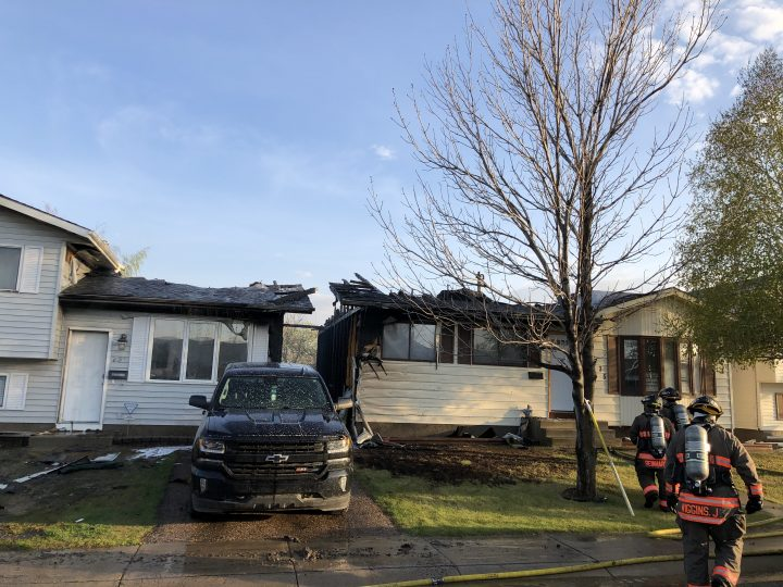 The improper disposal of smoking material in a planter caused a fire to start on the rear deck of one house and spread to a neighbouring home on May 21, 2019, a Saskatoon fire investigator said.
