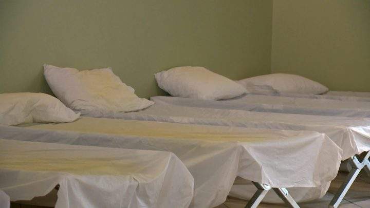File photo of shelter beds. Mumford House in Saskatoon was a 36-bed shelter for women and children run by the Salvation Army.