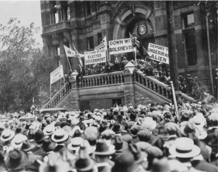 Writer Danny Schur said many of the anti-immigrant themes for the 1919 Winnipeg General Strike are still, unfortunately, relevant today.