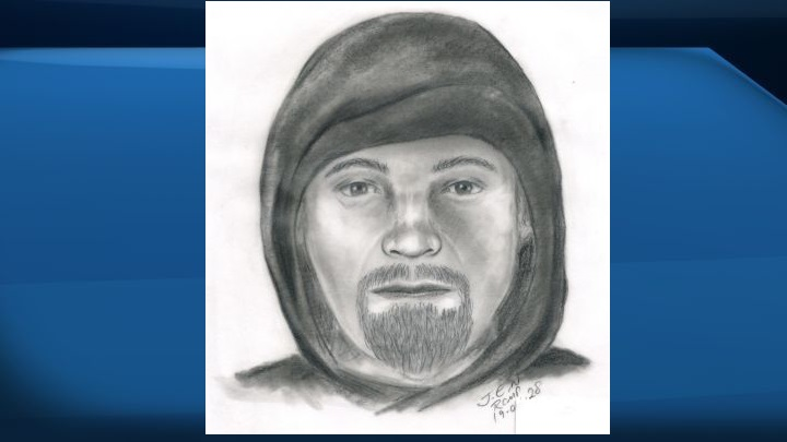 The RCMP have release a sketch of a suspect they're seeking in connection with the sexual assault of a woman in Vegreville, Alta., last week.