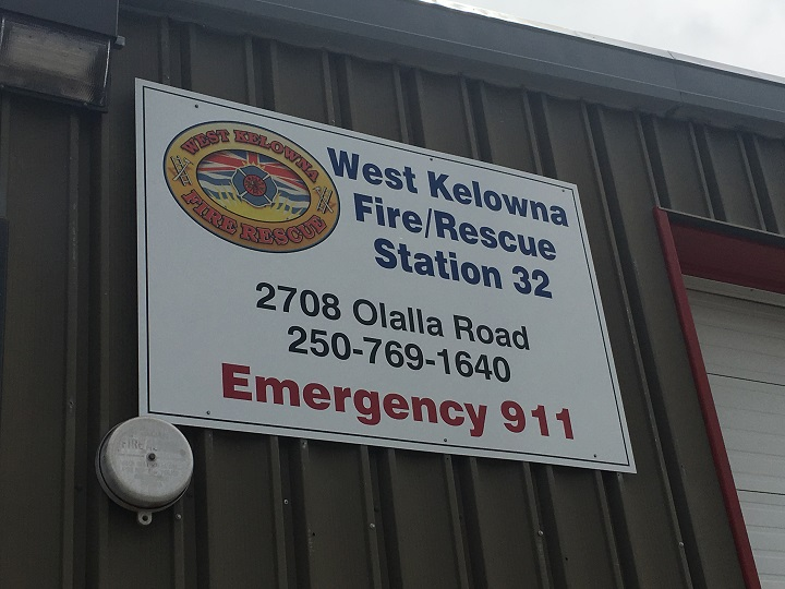 West Kelowna's fire chief says due to a staff shortage, the Lakeview Heights fire station was to be temporarily closed on Saturday between 8 a.m. and 6 p.m.