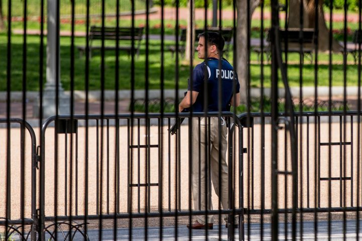 The U.S. Secret Service has confirmed that a man lit himself on fire Wednesday afternoon outside the White House.