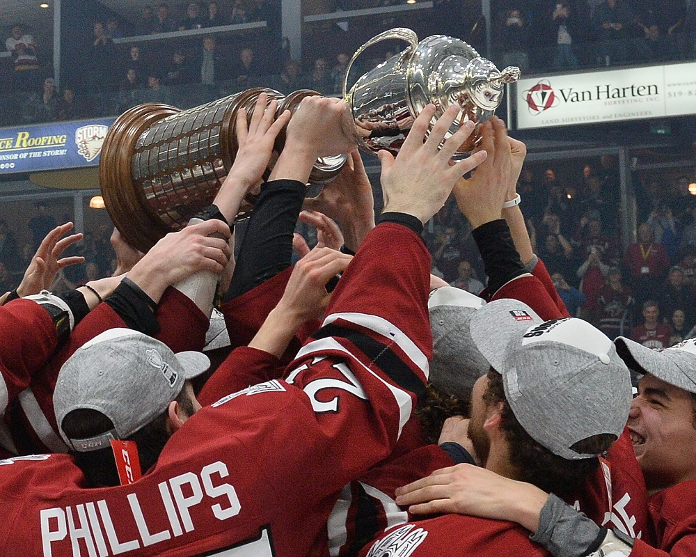 The Guelph Storm will seek to defend their OHL Championship title in the 2019-20 season.