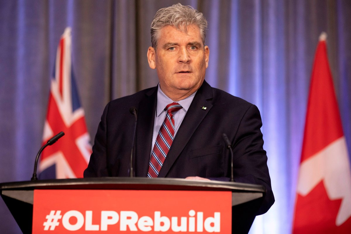 John Fraser, the Interim Leader of Ontario Liberal Party, speaks at their 2019 AGM in Toronto, on Friday June 7, 2019.