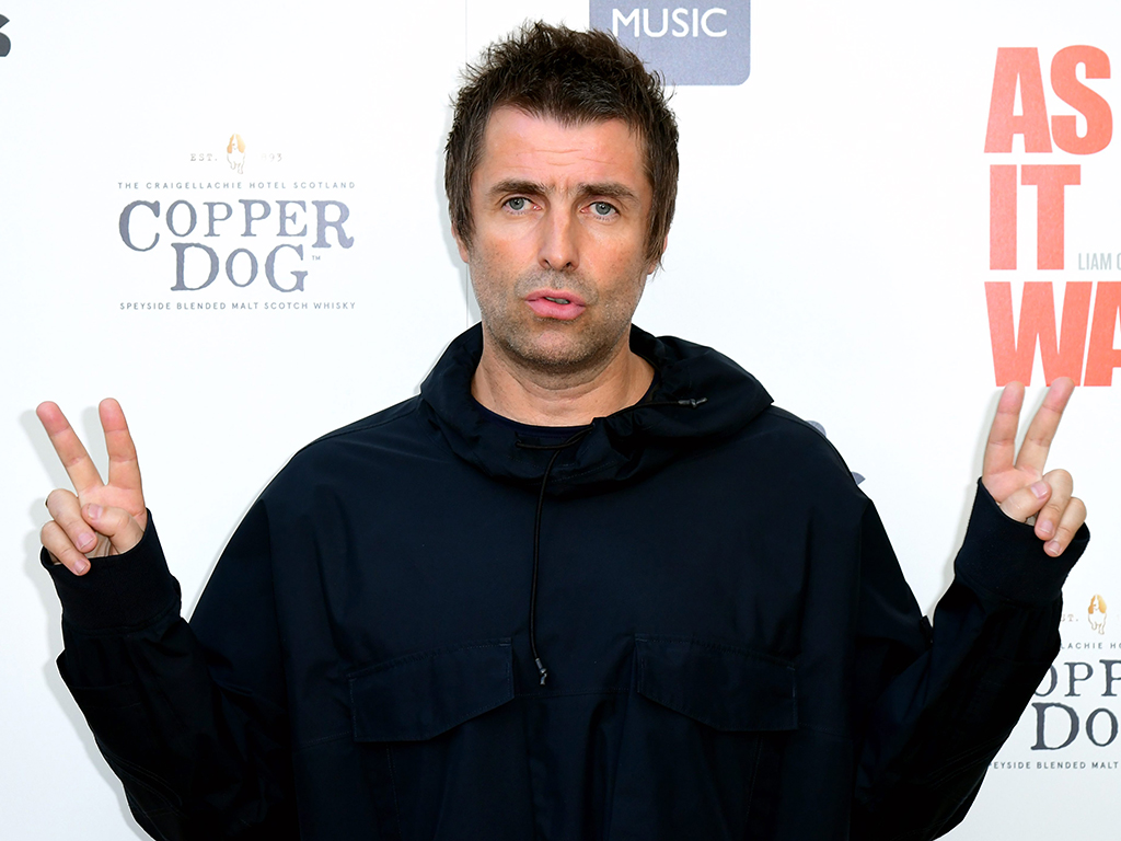 Liam Gallagher attending the 'As It Was' premiere at the Alexandra Palace Theatre, in London, England on June 6, 2019.