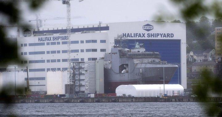 Nova Scotia revokes coronavirus exemptions issued to Irving Shipbuilding executives for U.S. travel