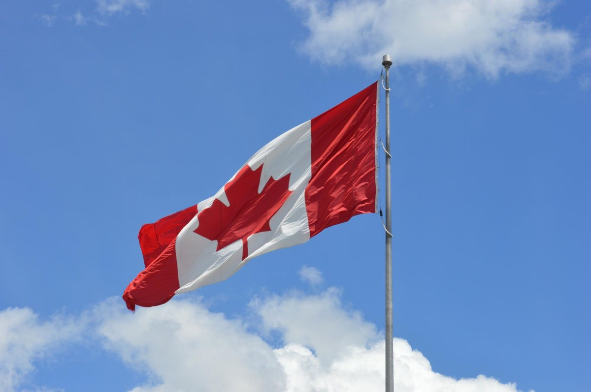 A Canadian flag in Halifax, N.S., on June 15, 2019.