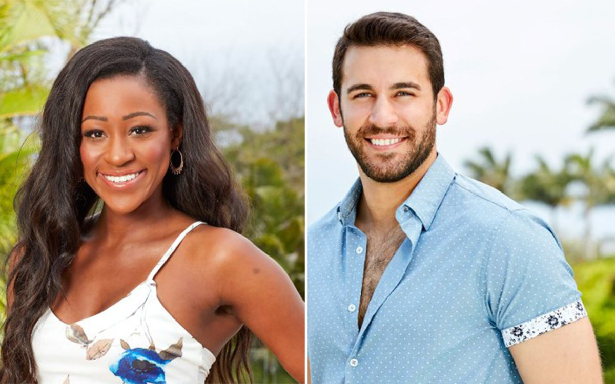 (L-R): Onyeka Ehie and Derek Peth are among the cast of 'Bachelor in Paradise' Season 6.
