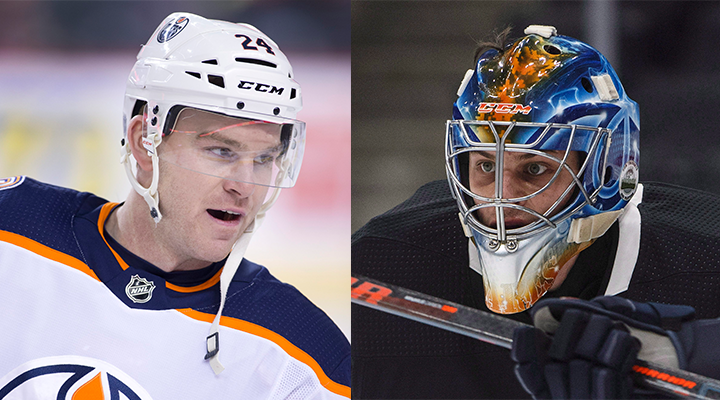 The Edmonton Oilers have signed forward Brad Malone and goaltender Shane Starrett to one-year contract extensions.