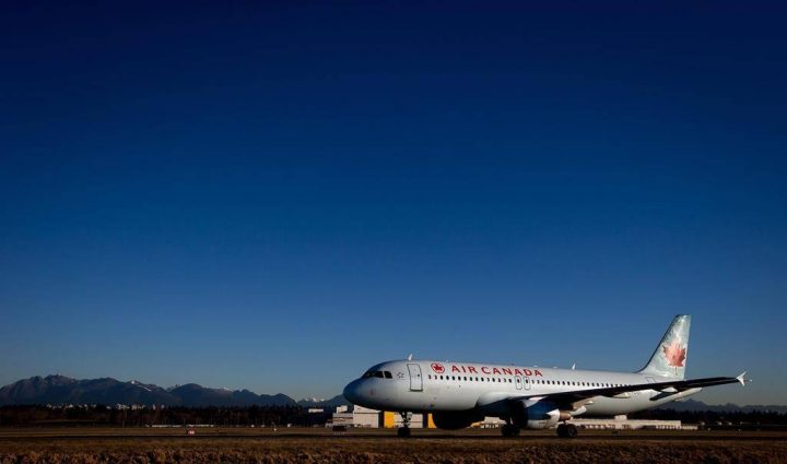 Air Canada has confirmed the incident occurred and said it is reviewing what happened.