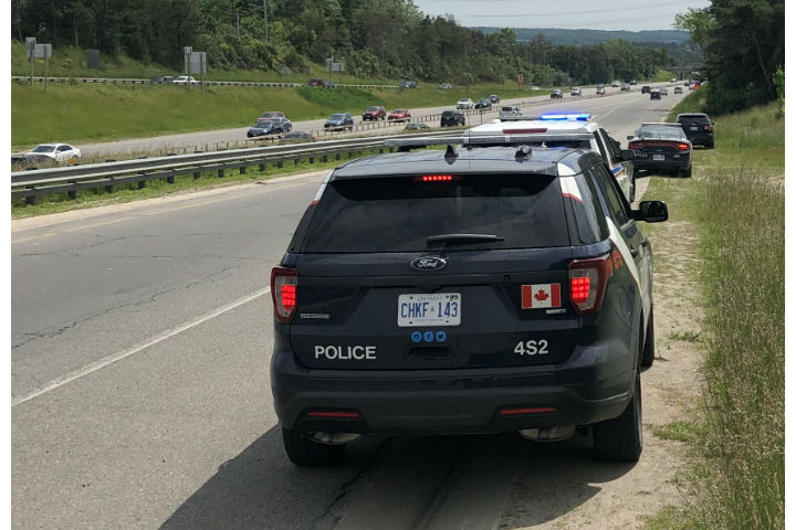 A dead man was found in Barrie on Monday. The investigation is ongoing.