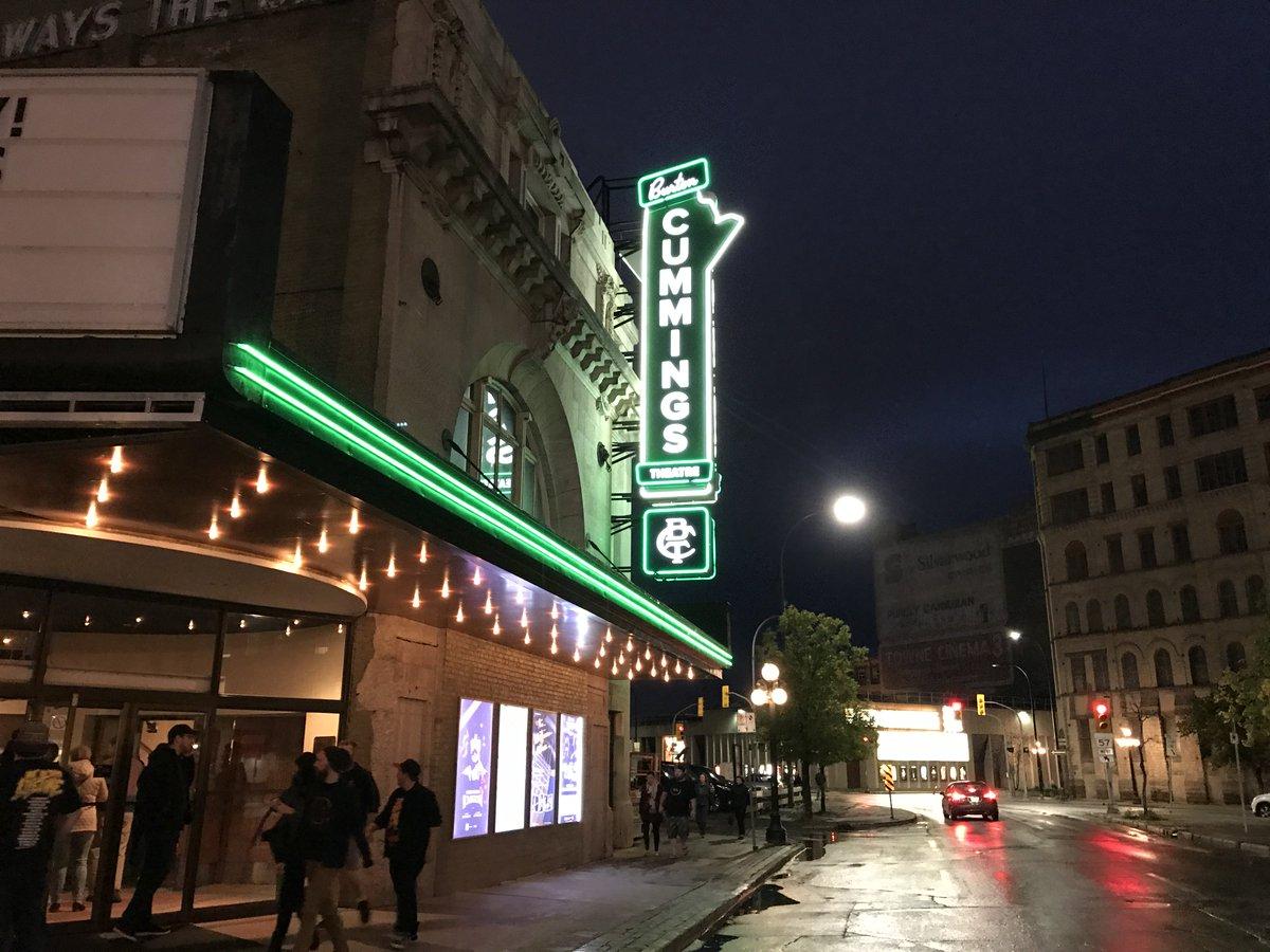 The Burton Cummings Theatre.