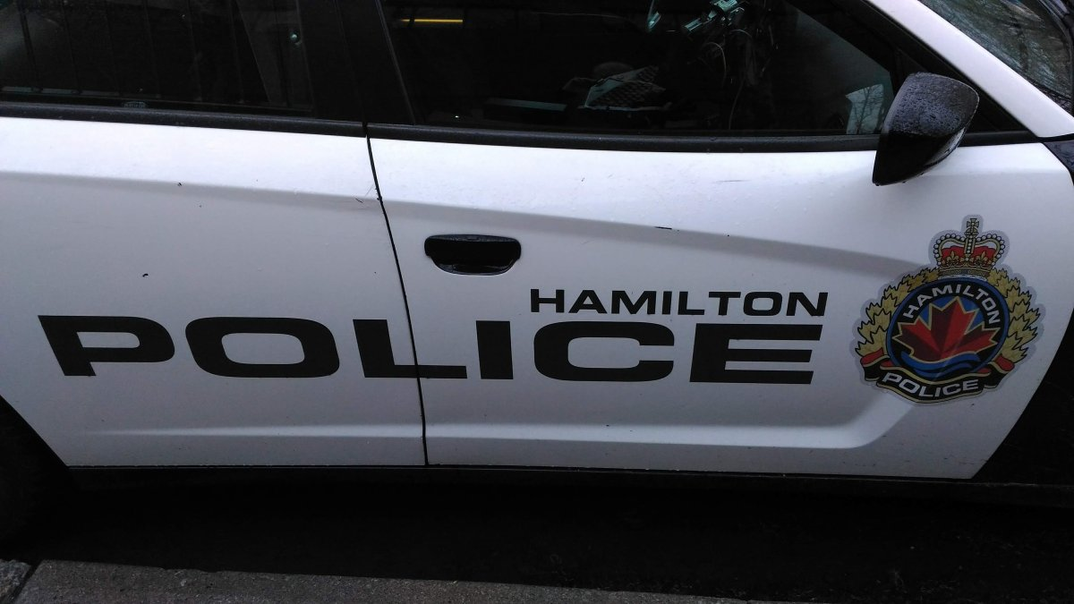 Police have arrested two people after a report of shots fired on Empire Court in east Hamilton early Saturday morning.