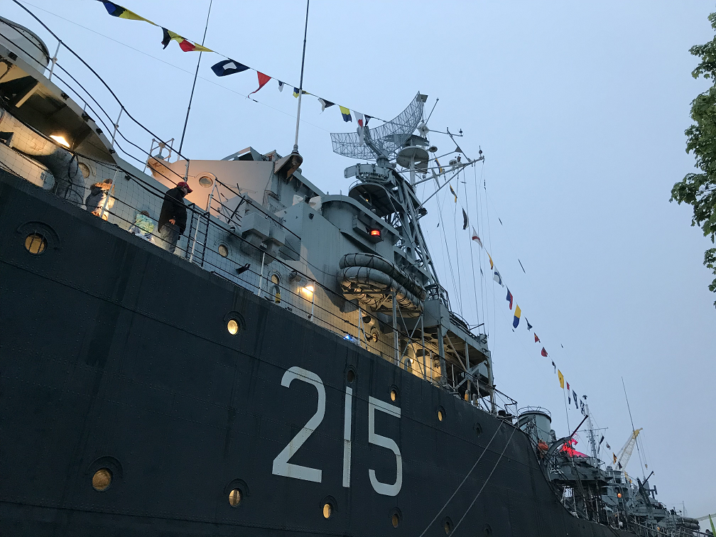 The HMCS Haida played an important role leading up to the invasion of Normandy in 1944.