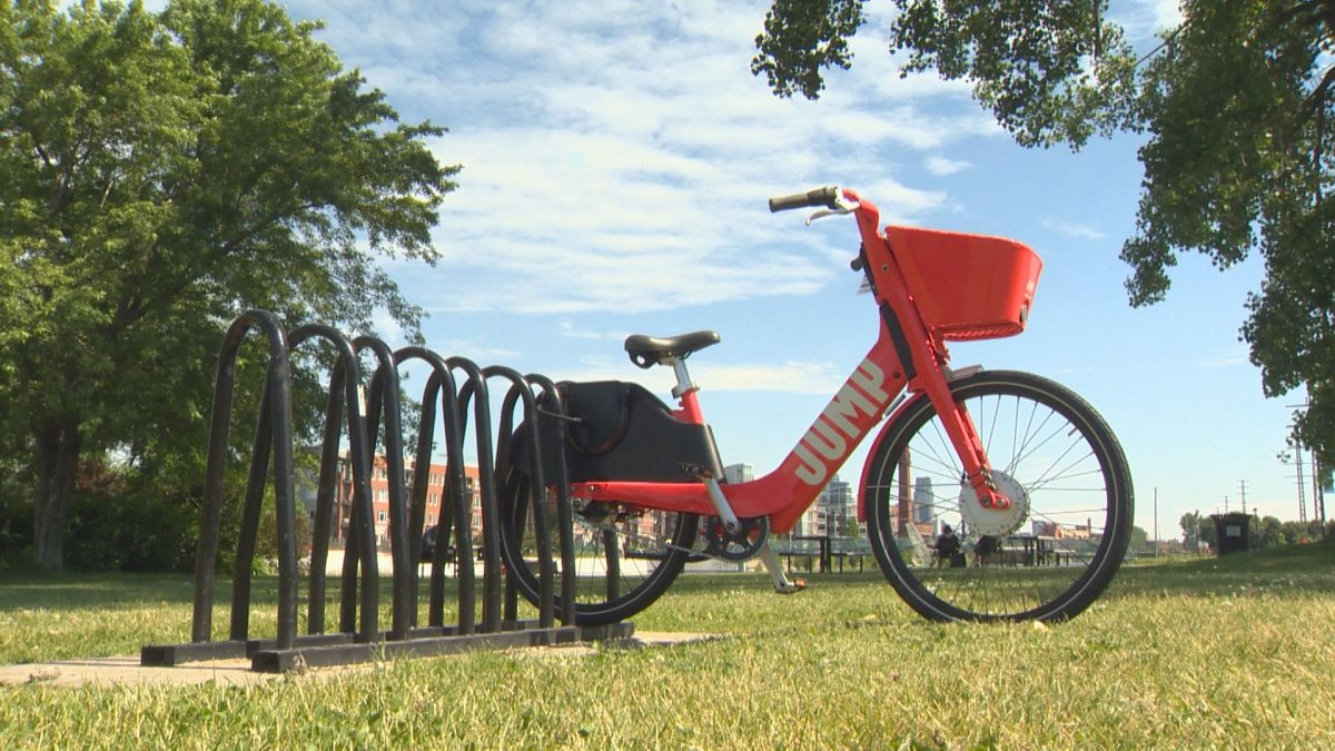 The electric bicycles are available in nine boroughs, including Ville-Marie, the Sud-Ouest and Rosemont.