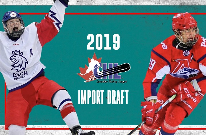 The Kelowna Rockets selected two players in Thursday's CHL import draft. With Lassi Thomson also on the roster, the team now has three Europeans – one over the league limit.
