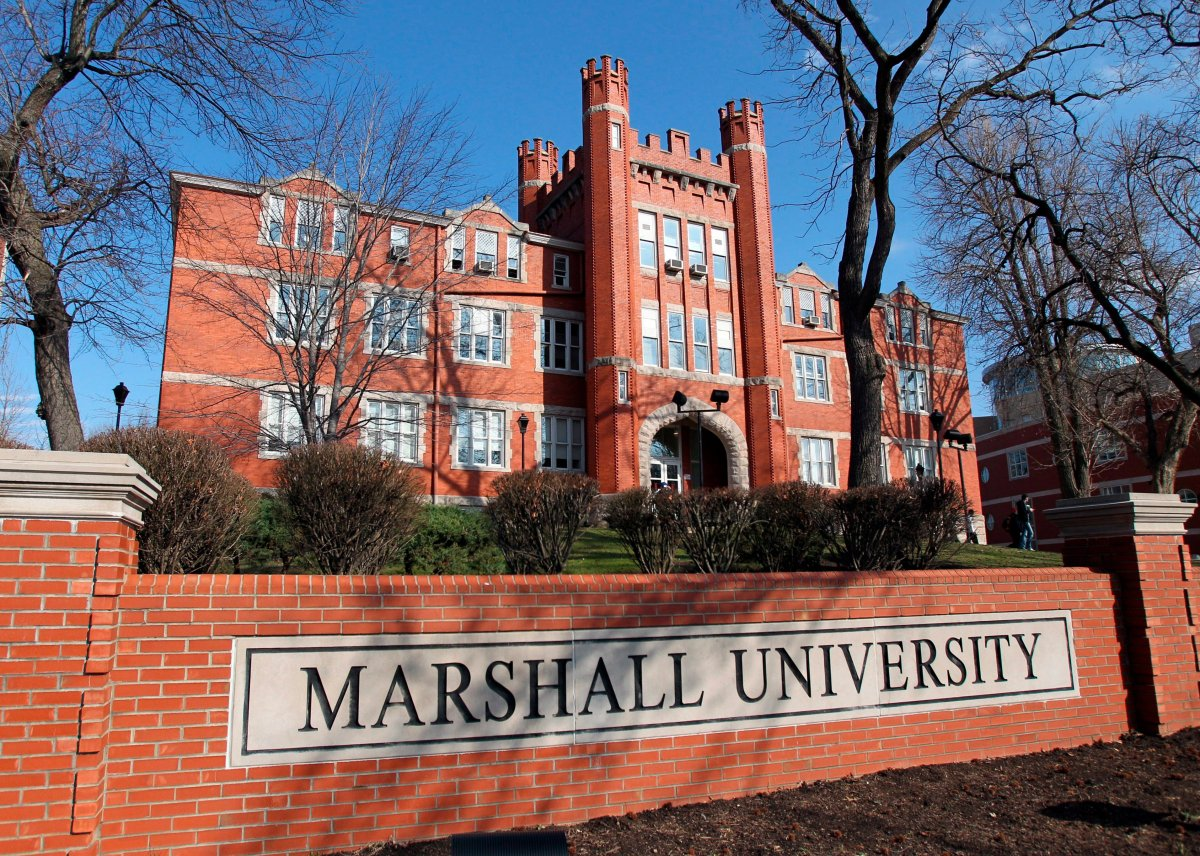 A file photo shows the Marshall University Old Main exterior in Huntington, WV.