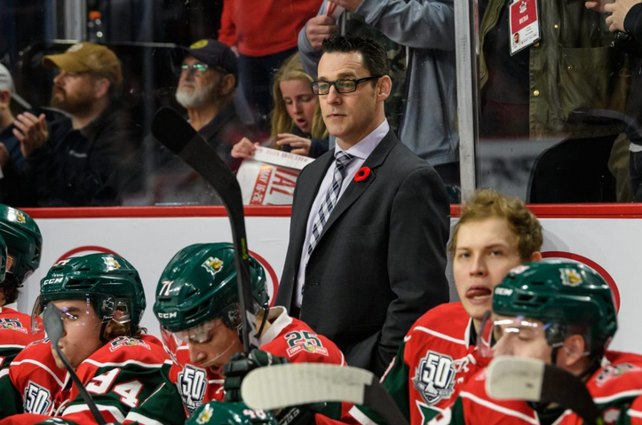 Eric Veilleux is parting ways with the Halifax Mooseheads.