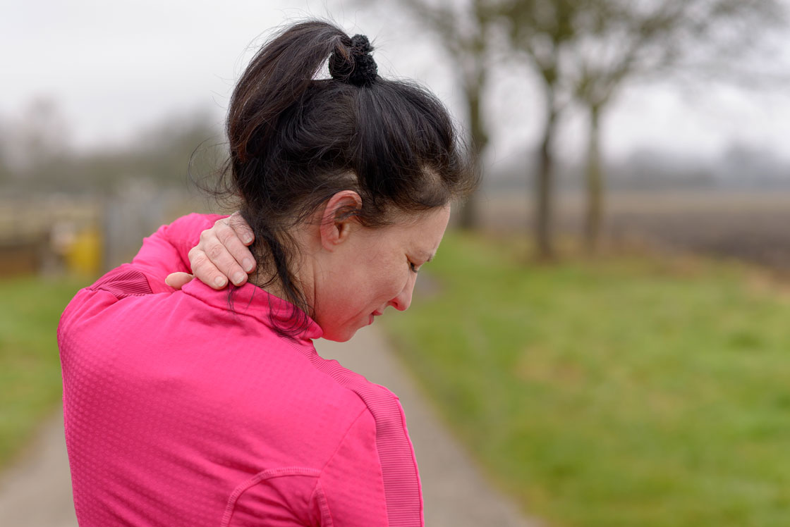Even if you have neck pain, you should still keep moving, experts say.