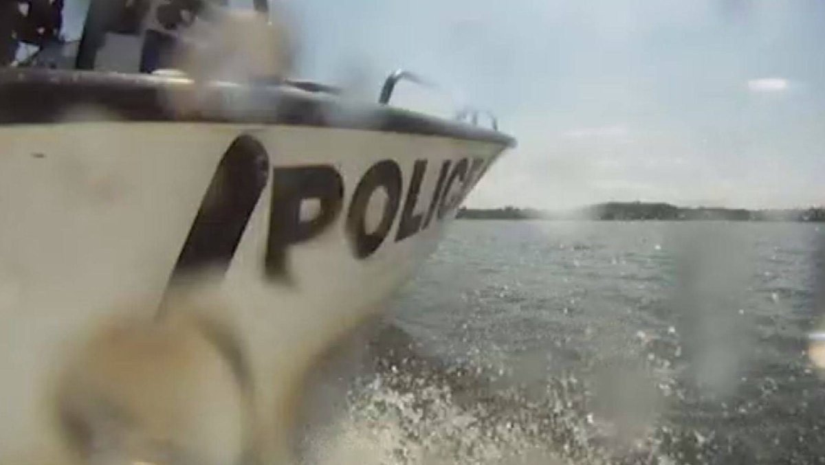 Peterborough County OPP's marine unit laid 14 charges over the weekend including one for impaired driving.