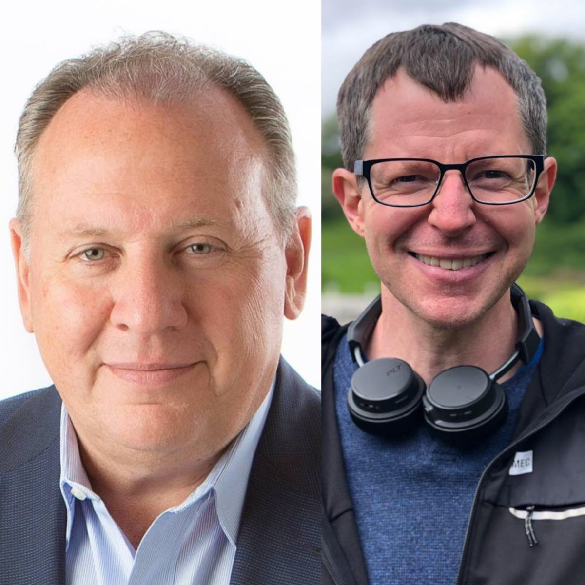 """Shawn Adamsson (right), a community activist and ardent supporter of rapid transit, published an apology Saturday night for a """"satirical"""" website he created in December 2017 to criticize Paul Paolatto (left), who finished second in last year's municipal election."""