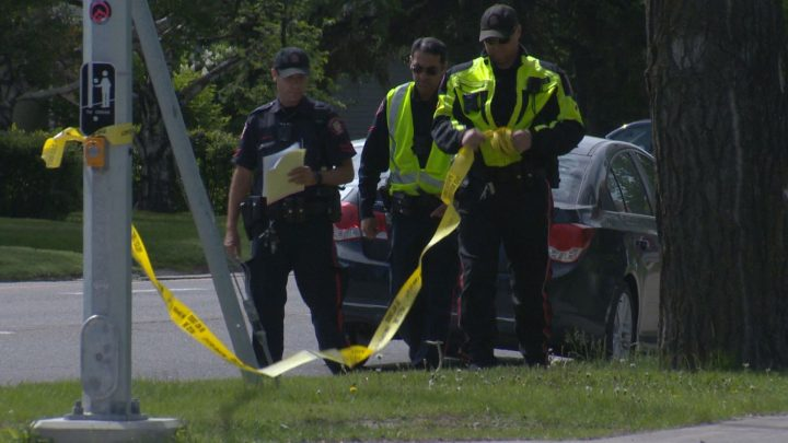 Calgary police said a teenager was injured after being hit by a car on June 11, 2019.