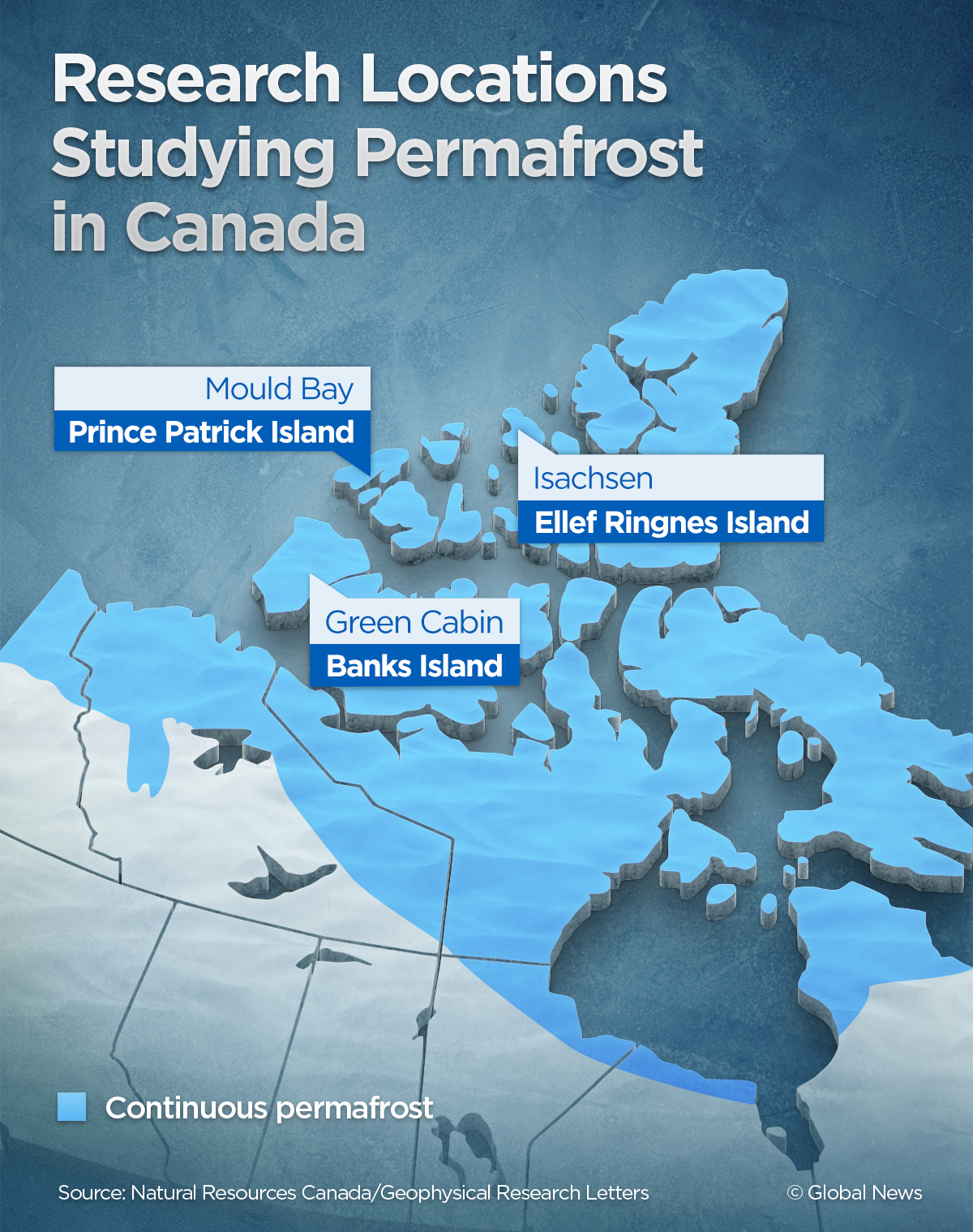 What is permafrost and what does it mean for Canada as it thaws | Globalnews.ca