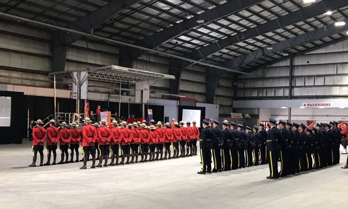 A change of command ceremony for the B.C. RCMP's commanding officer was held on Thursday, June 6, 2019.