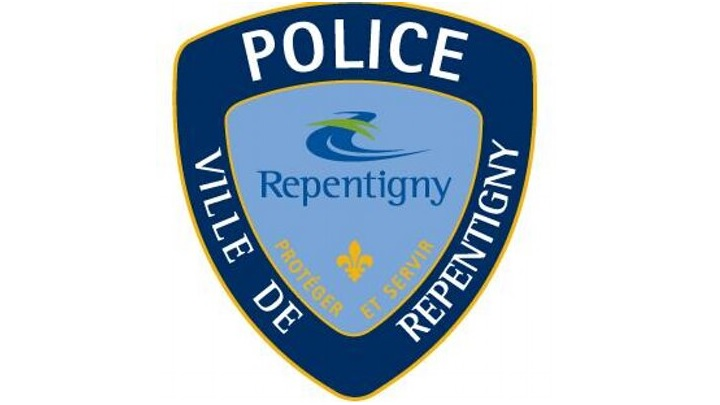 Repentigny police logo.