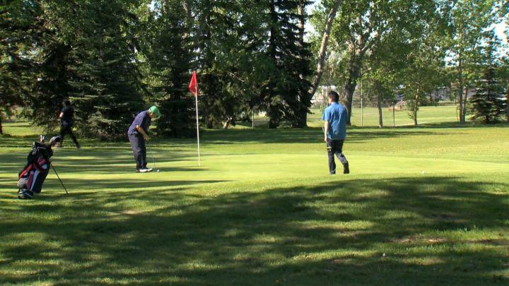 Richmond Green Golf Course in Calgary on 33 Avenue S.W.